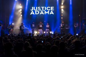 BBG sur la scène de La Cigale pour le concert en soutien à Adama Traoré, Jeudi 2 Février 2017.