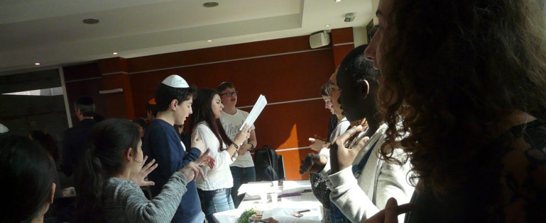 Rencontre entre juif